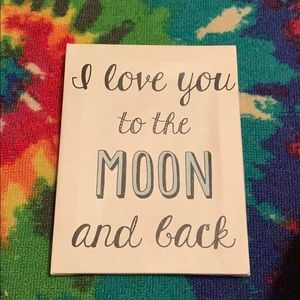 I love you to the moon and back picture